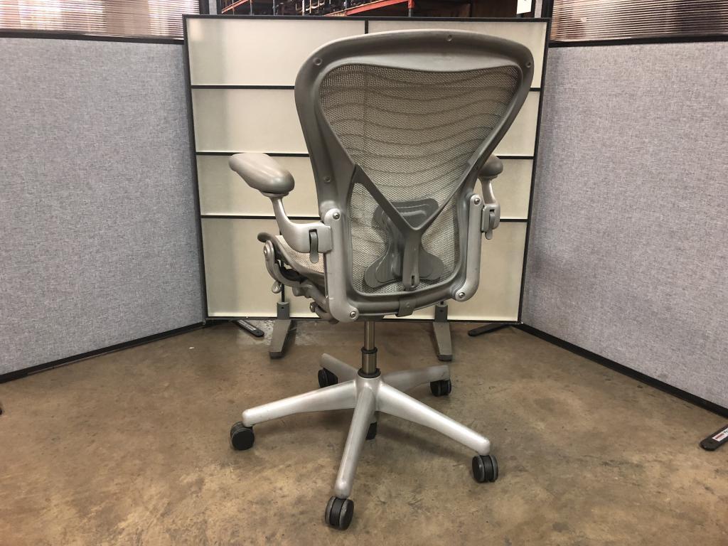 Platinum Herman Miller Aeron Chair  Office Solutions, Inc.