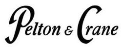 Pelton and Crane logo black