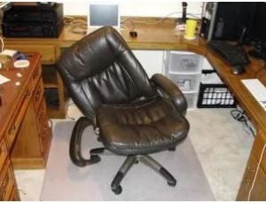 Broken old chair