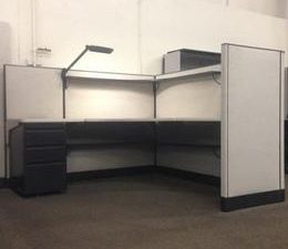 Haworth 6X6 Workstation with 50 panels